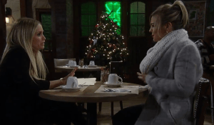 Lulu worries to Maxie about the holidays-GH-ABC