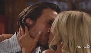 Sharon-Nick-kiss-YR-CBS