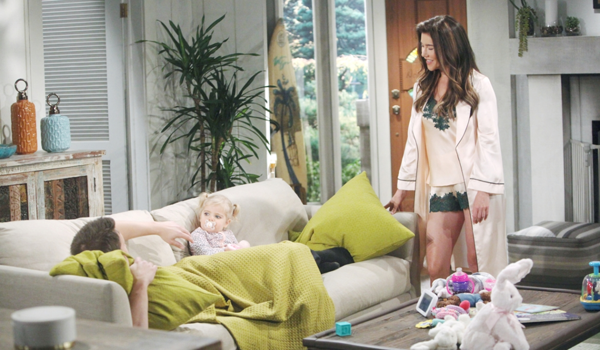 Liam, Kelly, Steffy awaken Bold and Beautiful