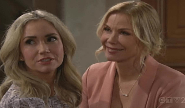 Bridget saluta Brooke Bold and Beautiful