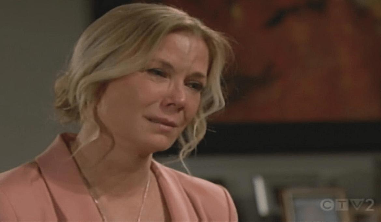 Brooke piange solo Bold and Beautiful