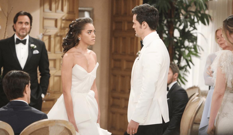 Zoe si confronta con Thomas wedding Bold and Beautiful