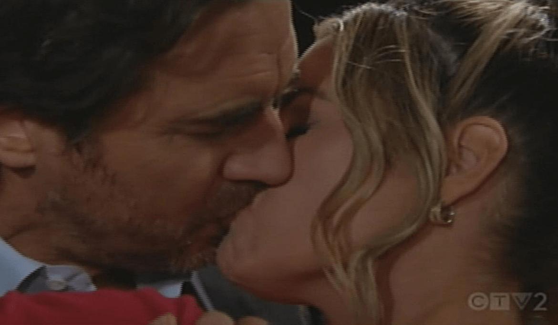 Ridge Shauna kiss Bold and Beautiful
