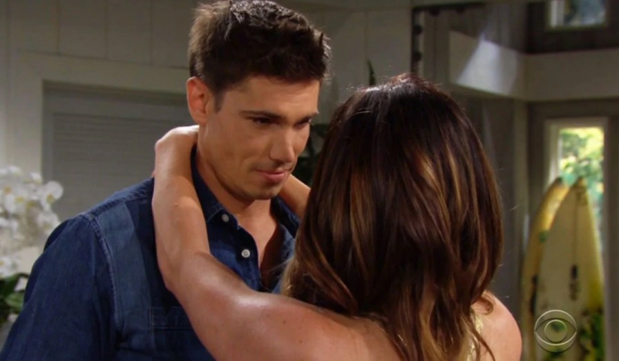 finn's excited steffy wants to get married bb