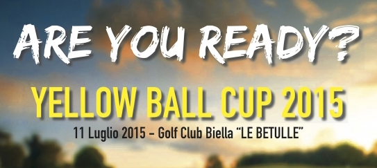Soardo e Associati sponsor della 'Yellow Ball Cup 2015' al Golf Club 'Le Betulle'