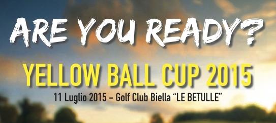 Soardo e Associati sponsor della 'Yellow Ball Cup 2015' al Golf Club 'Le Betulle'