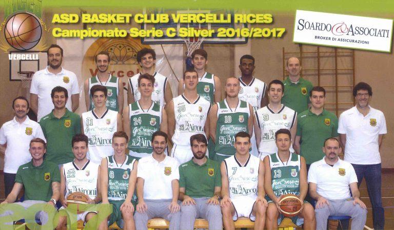 Soardo e Associati srl è sponsor ufficiale della ASD Basket Club Rices Vercelli