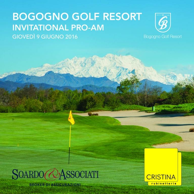Soardo e Associati sponsor dell'omonima Pro-Am, insieme a Cristina Rubinetterie, presso Bogogno Golf Resort.