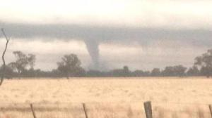 Victoria tornado