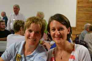 Andreea en Susanne