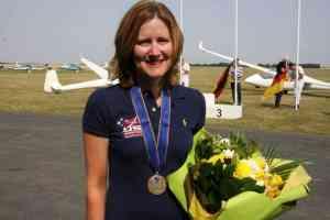 Sarah with bronze