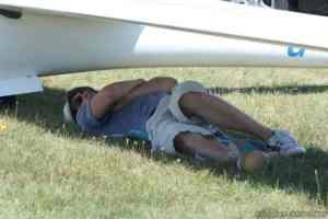 JWGC slaapt onder vleugel