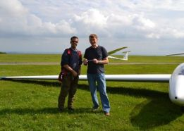 July at the Yorkshire Gliding Club - Soaring Cafe