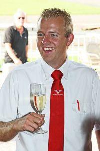 Peter Millenaar happy