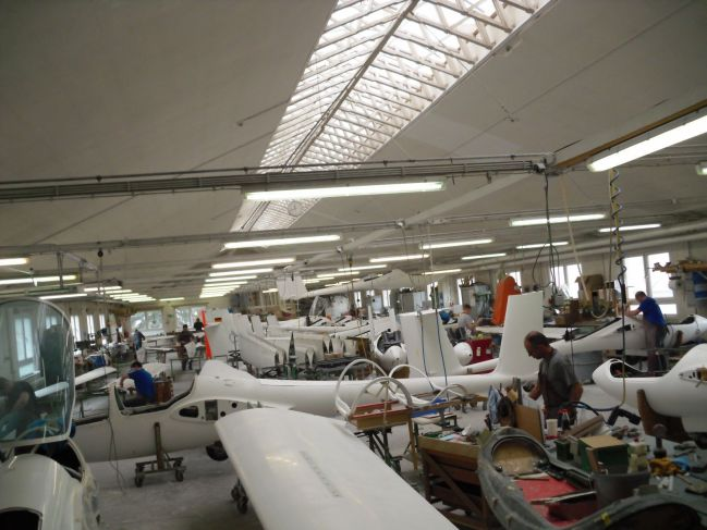 wings meet fuselages
