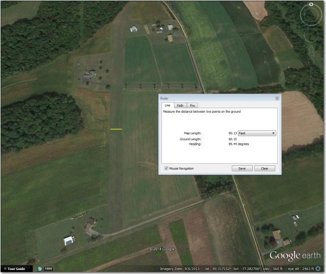Shulls Airstrip.  Correct coordinates are (40.3174, -77.2839)