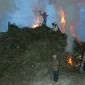 -burning witches- an ancient habbit in this part of Germany. Now a days the witches are made of carton. thumbnail