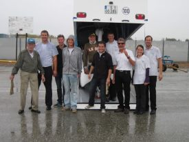 GFC Crew that Bagged e-Genius for California (picture courtesy of Karl Kaeser)
