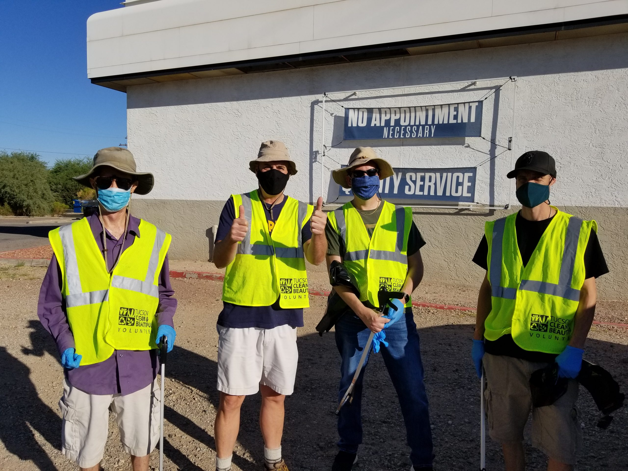 image to promote highway cleaning southern arizona norml