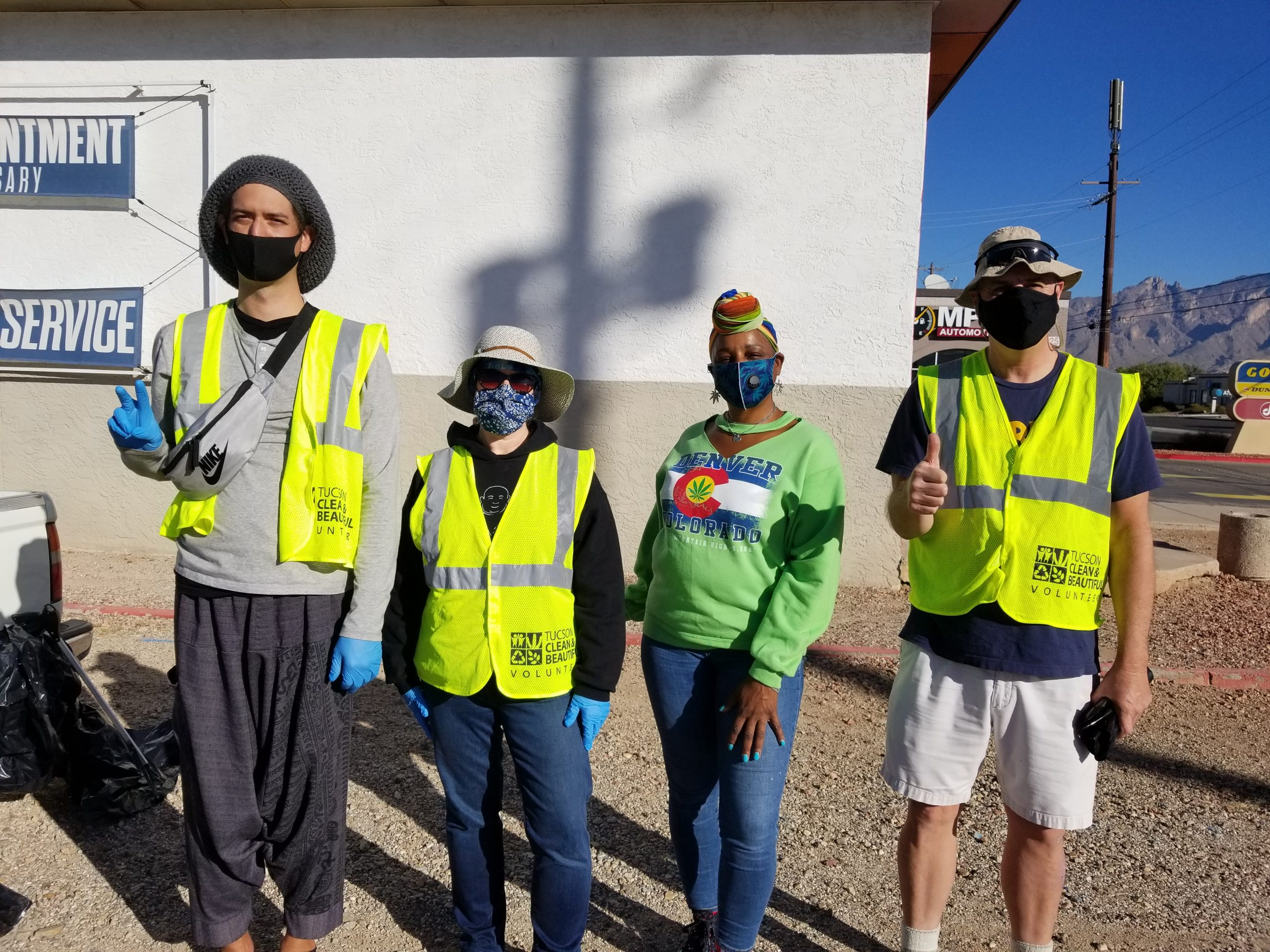 promote the highway cleaning of campbell avenue southern arizona norml