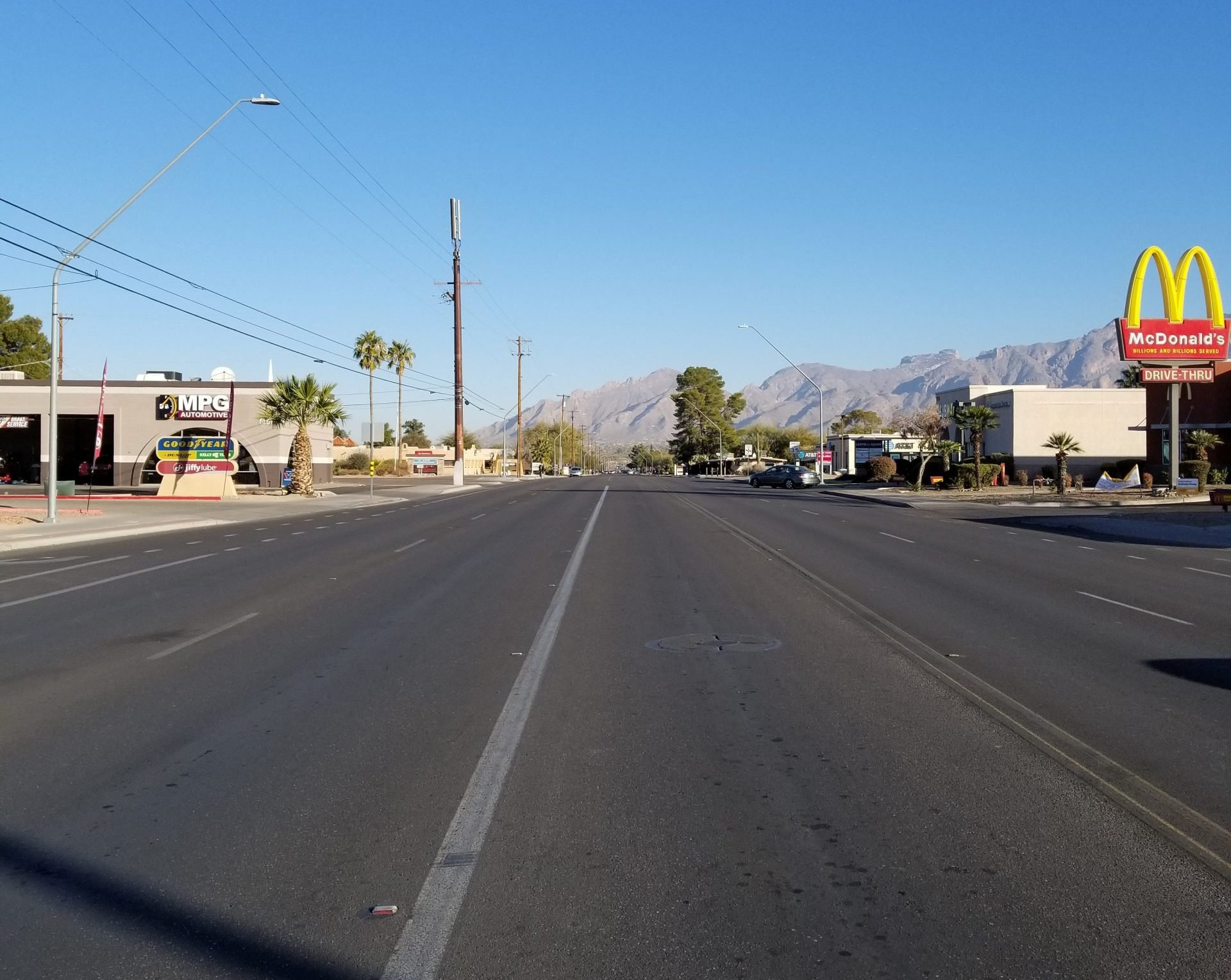 southern arizona norml highway cleaning