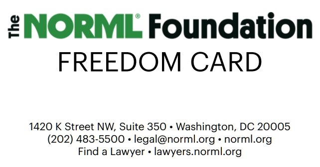 Norml Freedom Card