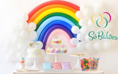 Aprenda a fazer uma linda decoração com balões.