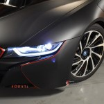 Bmw I8 Black Matte Sobati Customs
