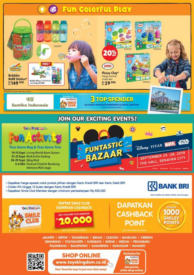 Promo Harga Special Toys Kingdom Lets Play Outside