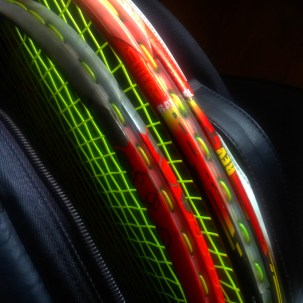 Day 22: My tennis racquets.