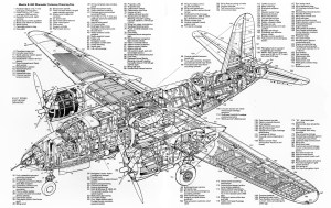 [Cutaway] Martin B26C Marauder | SOBCHAK SECURITY  est 2005