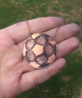 Soccer Star Necklace