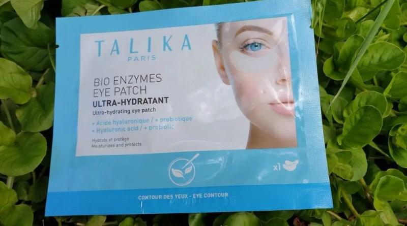 Les patchs pour les yeux aux bio-enzymes de Talika