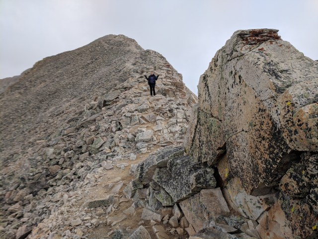 Climbing a 14er Looking for God