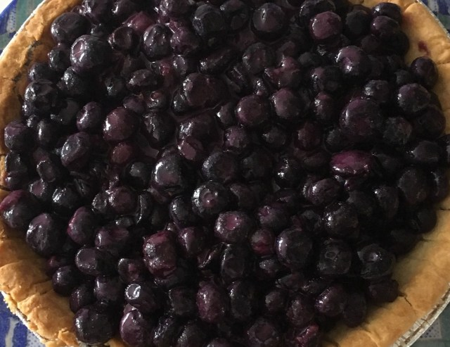 Grammy's Blueberry Pie