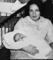 My bio-mom and me.