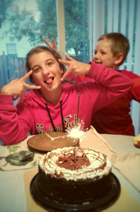 Daughter's 12 bday.