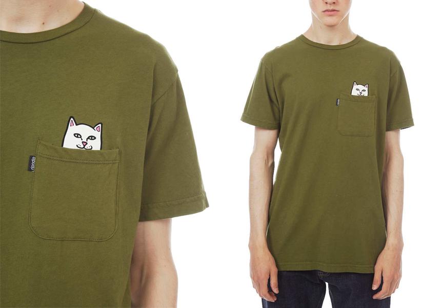 Как отличить подделку «Ripndip» - футболка «Lord Nermal Pocket».
