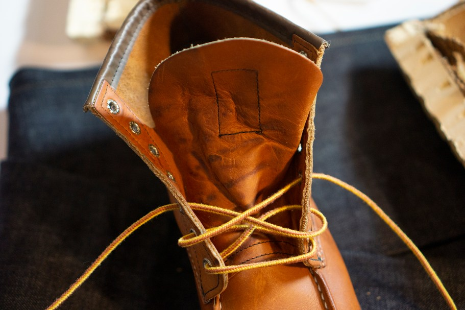 red wing язычок