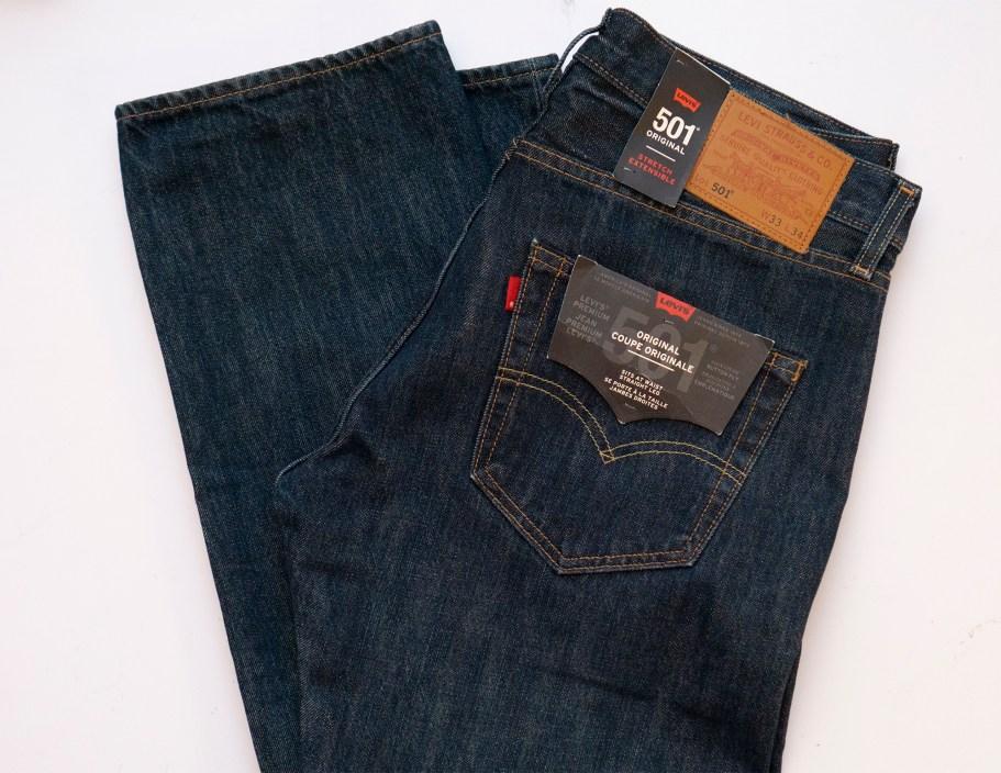 джинсы 501