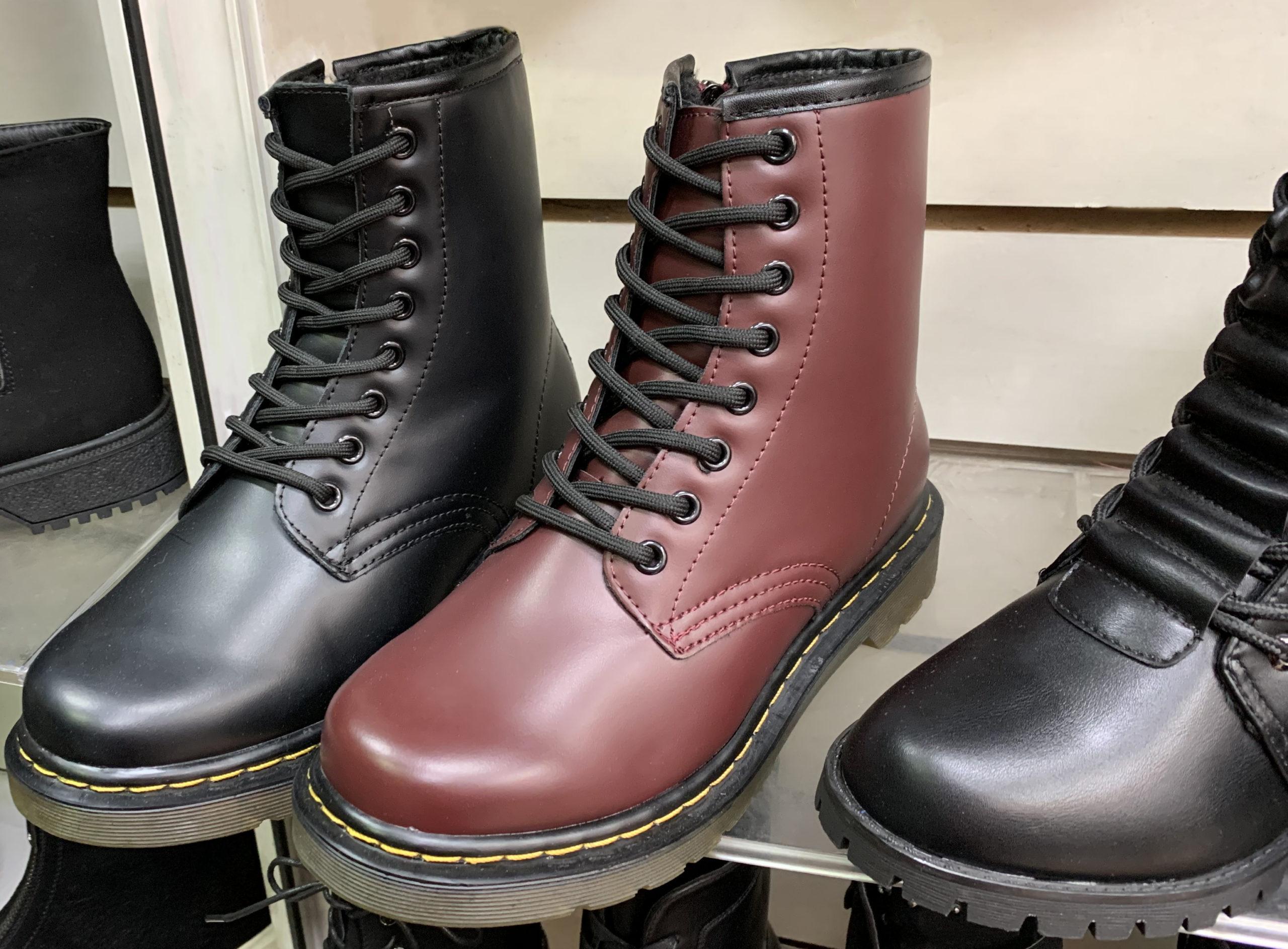 Ботинки похожие на dr martens