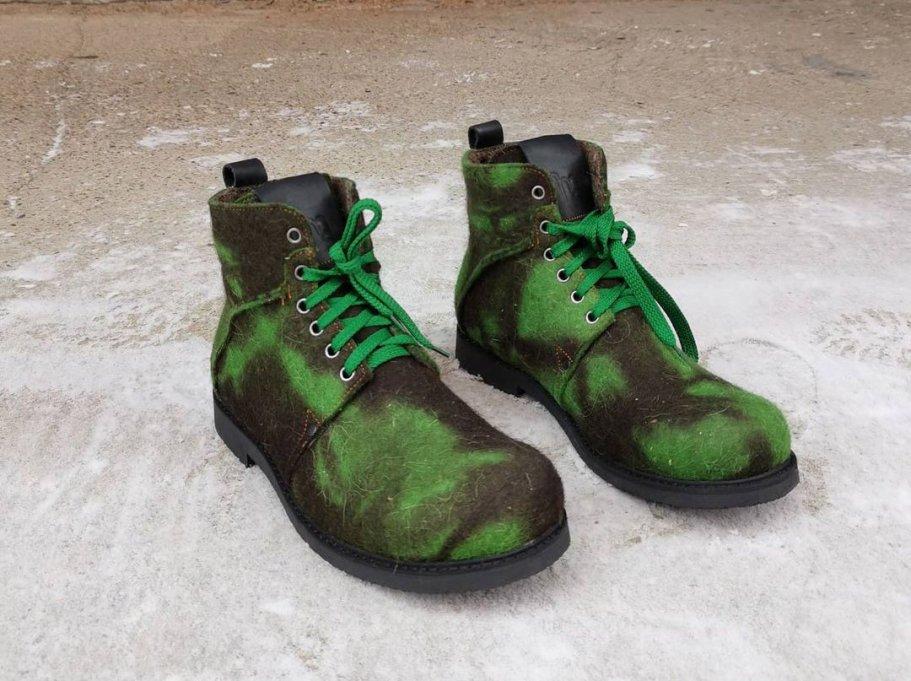 NOTMYSIZE ботинки green