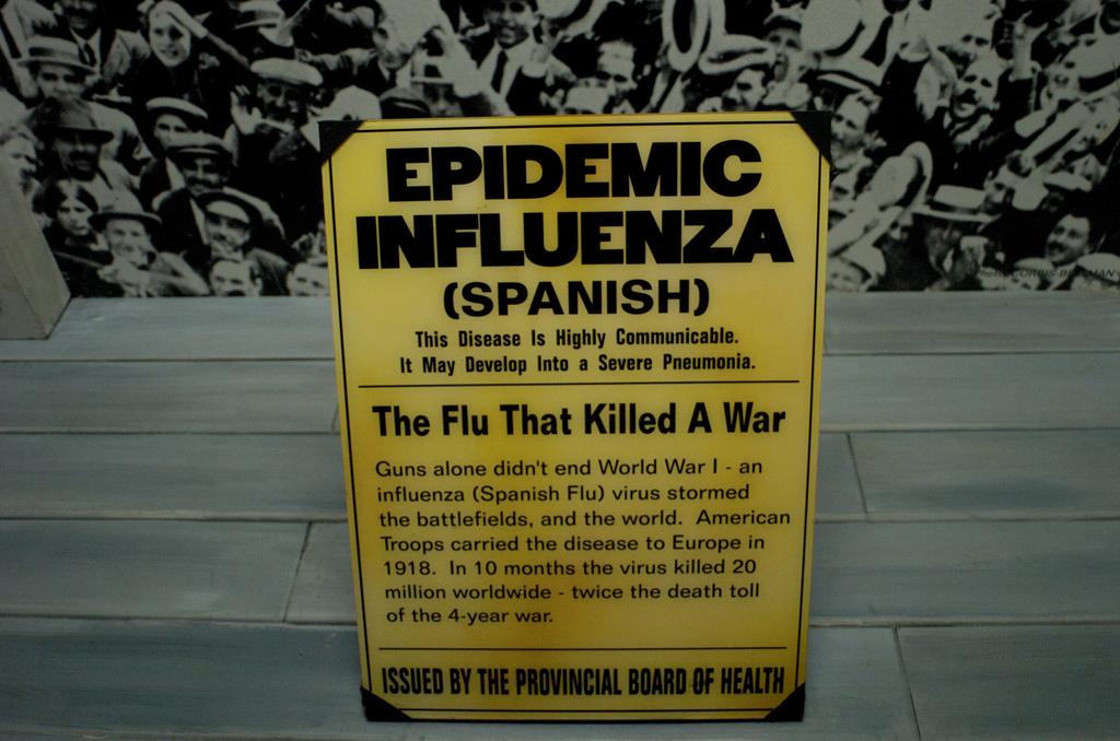 Spanish flu memorial