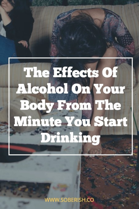 Effects of alcohol on your body hour by hour