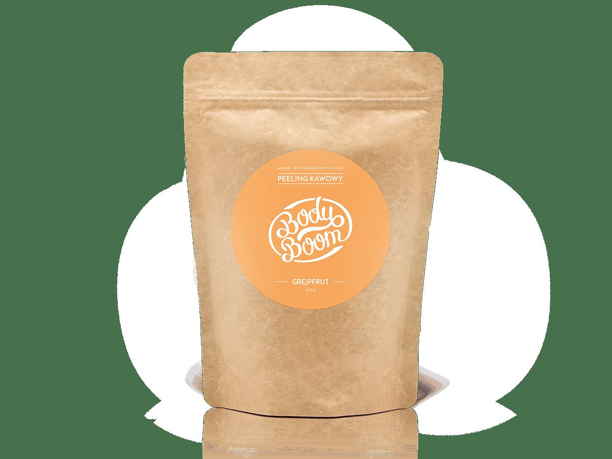 bodyboom peeling kawowy energetyczny grejpfrut