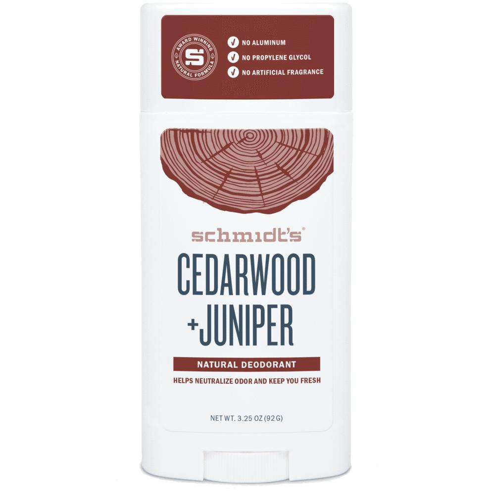 SCHMIDT'S Cedarwood Juniper Dezodorant | SoBio Beauty Boutique
