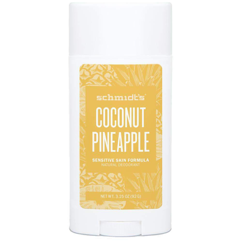 SCHMIDT'S Coconut Pineapple Dezodorant dla skóry wrażliwej | SoBio Beauty Boutique