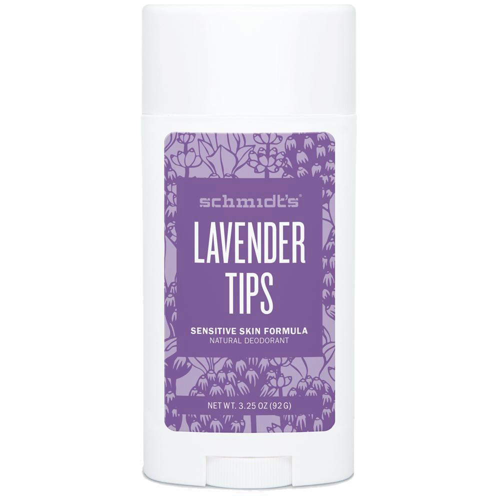SCHMIDT'S Lavender Tips Dezodorant dla skóry wrażliwej   SoBio Beauty Boutique