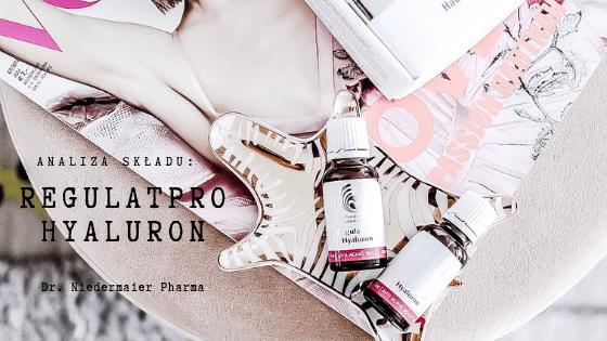 Analiza składu - DR. NIEDERMAIER Regulatpro Hyaluron   SoBio Beauty Boutique BB