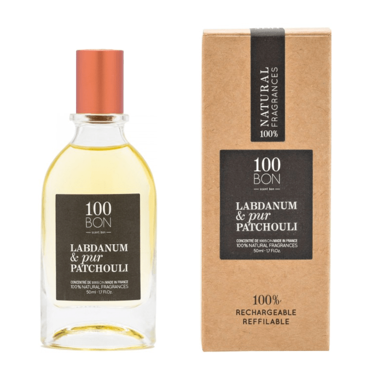 100BON LABDANUM & PUR PATCHOULI 50 ml | SoBio Beauty Boutique